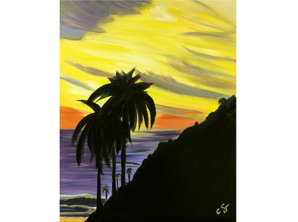 Santa Barbara Sunset Painting Class