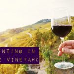 Small Painting in the Vineyard
