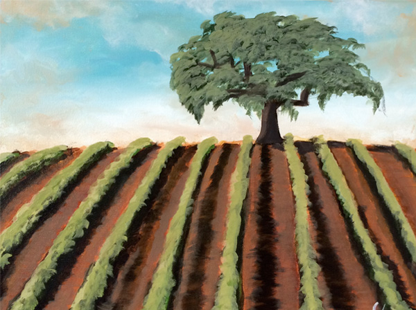 Vineyard Oak Painting Class