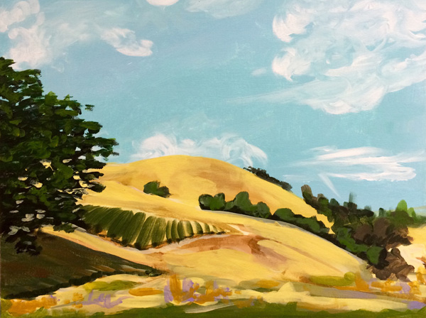 Golden Hills Painting Course