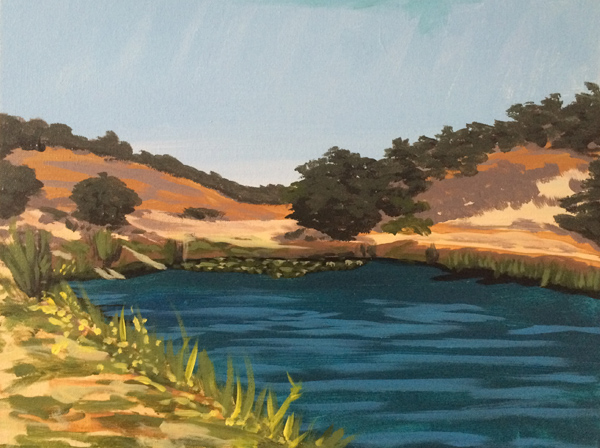 Folded Hills Ranch Painting Class