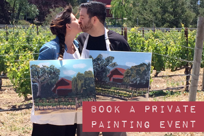 gypsy studios art vineyard painting