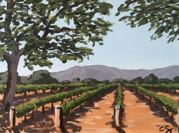 Roblar Winery Painting Classes