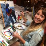 Painting classes, art classes, santa ynez valley