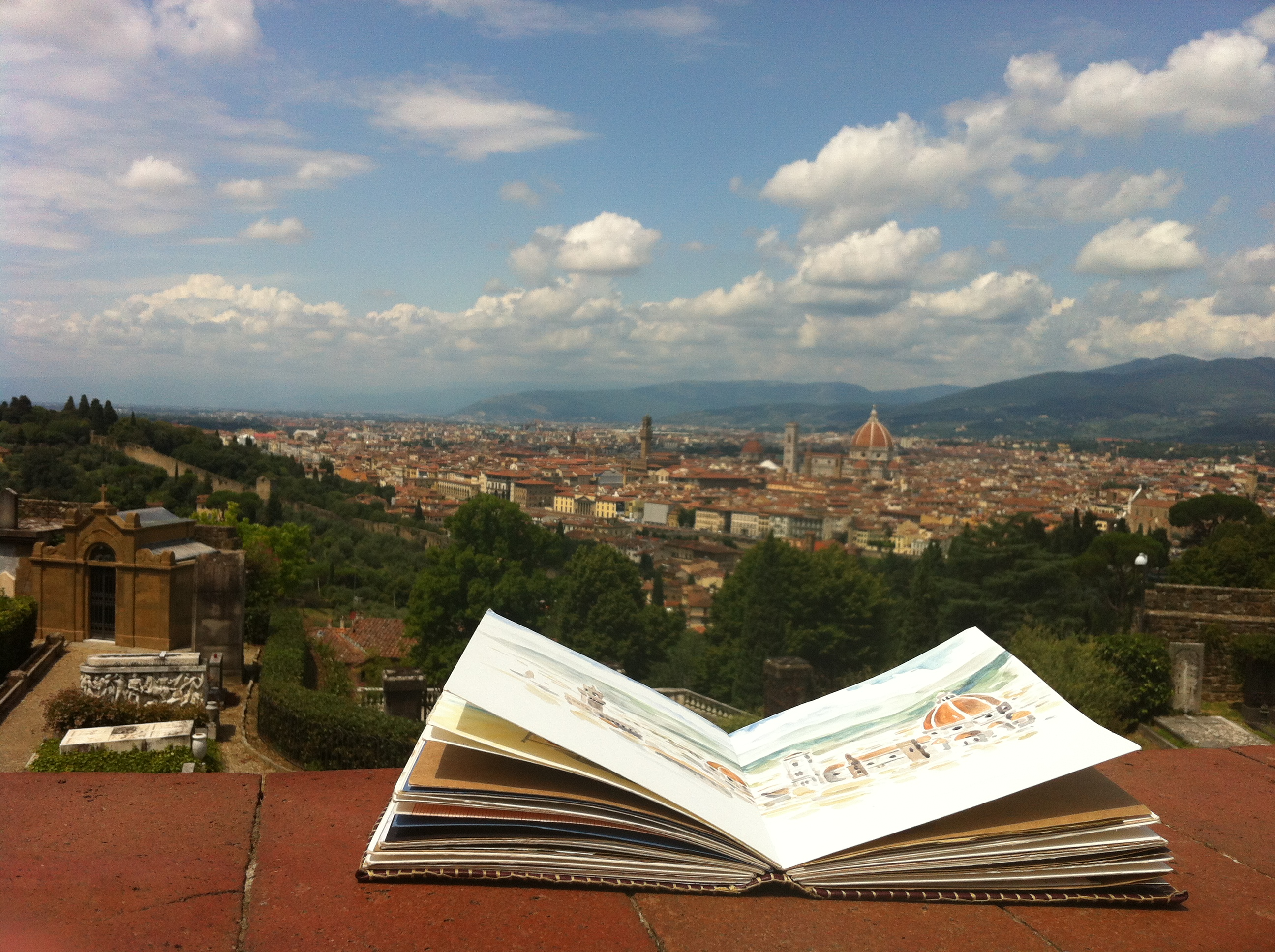 Florence Art Retreat Italian Art Holiday Sketch Draw Paint Workshop