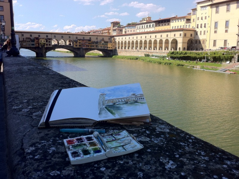 Florence Art Retreat Italian Art Holiday Workshop