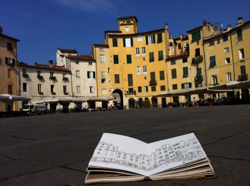 Lucca Art Retreat Italian Art Holiday Workshop