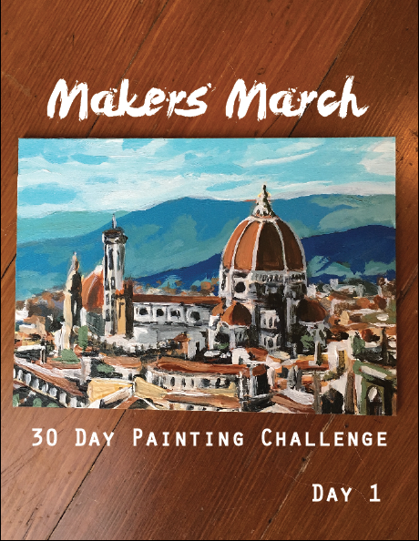 Makers March 30 Day Art Challenge