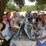 Paint in the Vineyard Santa Ynez Valley Things to do in Santa Barbara County, Santa Ynez Valley, Los Olivos, Rideau Winery Event Activities