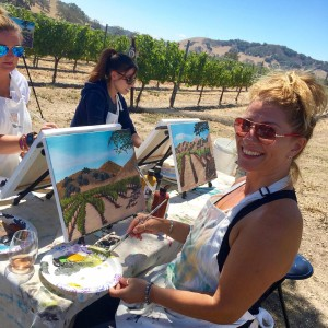things to do in santa ynez valley painting in the vineyard winery events kita wine taste
