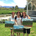Paint in the Vineyard Santa Ynez Valley, Solvang, Things to do in Santa Barbara County, Solvang Events, Santa Ynez Valley, Los Olivos, Lincourt Winery Event Activities, wine tasting