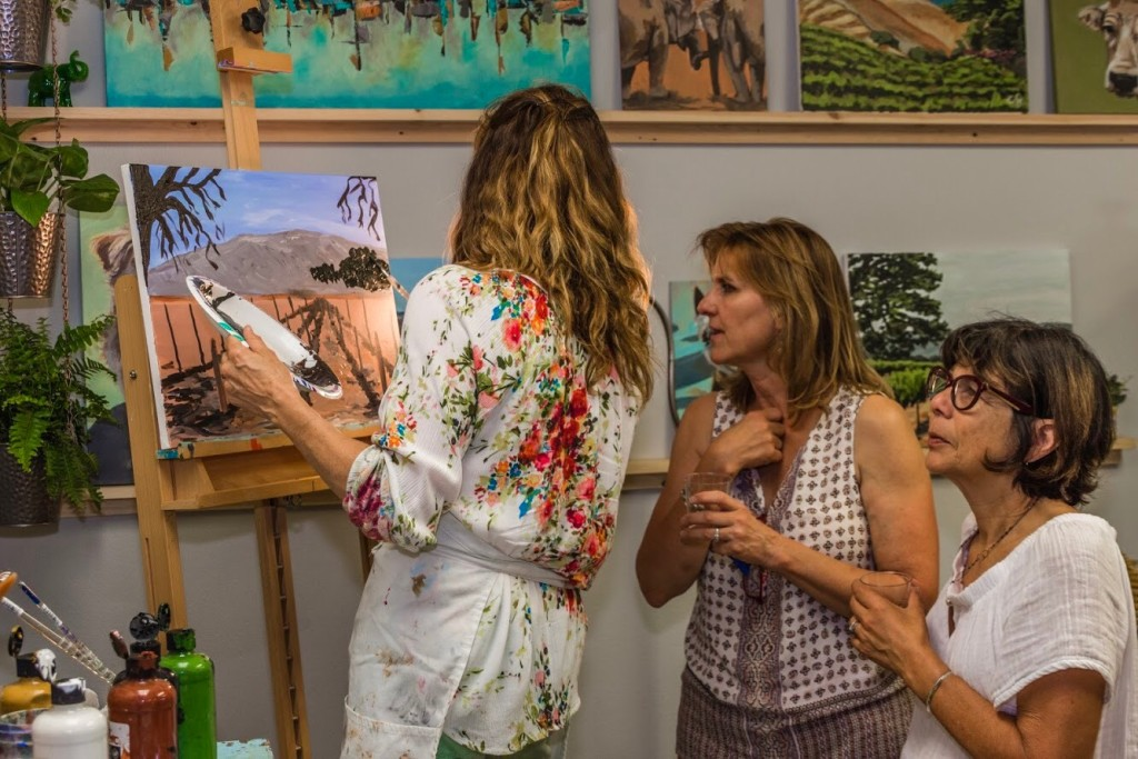 Art Class, Santa Ynez Valley, Beginner Painting, Watercolor Class, Solvang, Buellton, Painting Course, Buellton Art Classes, The Landing, Gypsy Studios Art Classes, Watercolor class in Buellton, painting demo