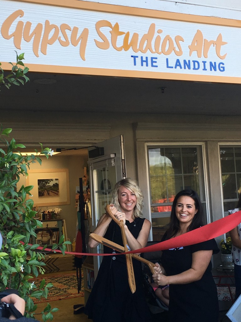 Gypsy Studios Art Class, Santa Ynez Valley, Beginner Painting, Watercolor Class, Solvang, Buellton, Painting Course, Buellton Art Classes, Classes, Watercolor class in Buellton Ribbon cutting, grand opening