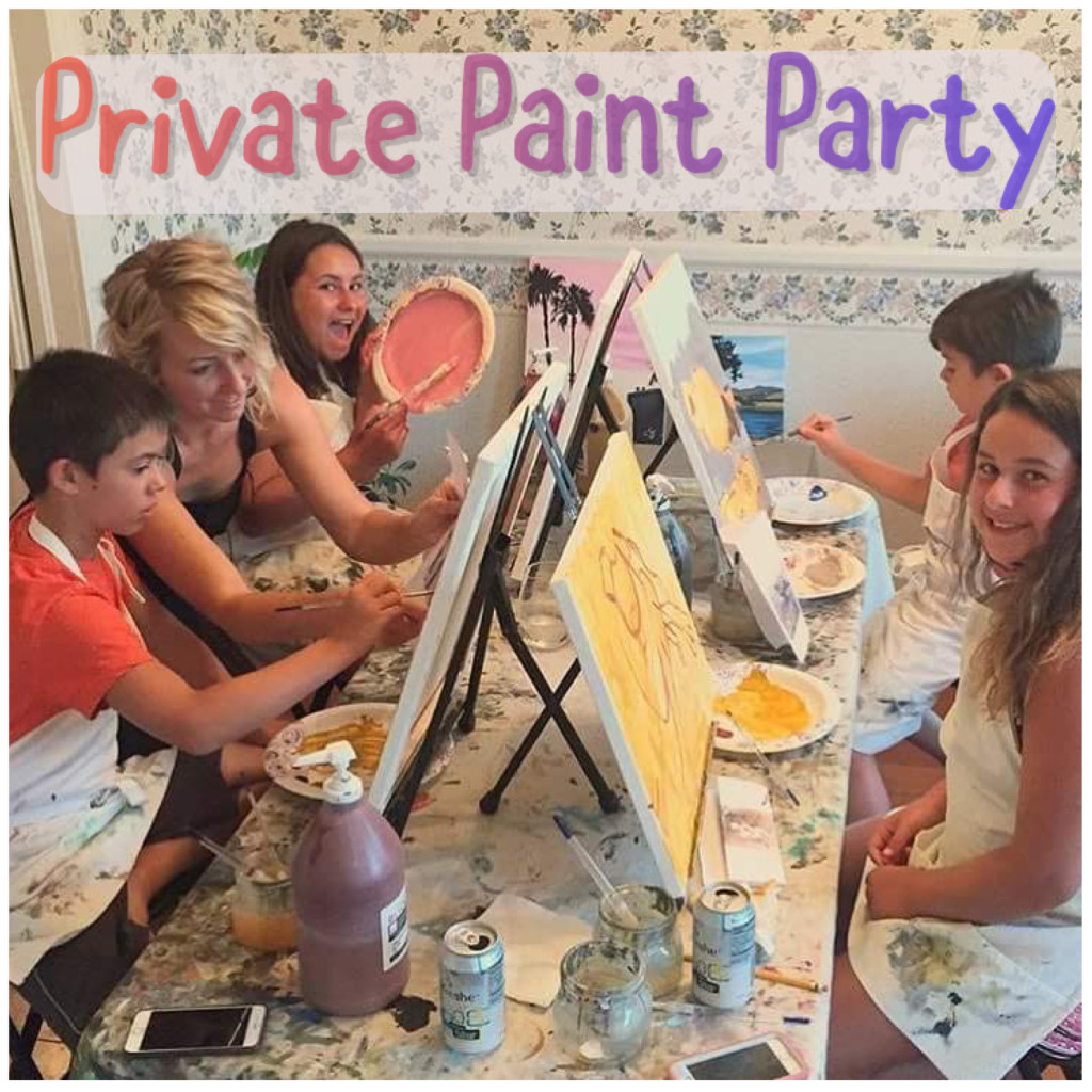 Private kids painting series gypsy studios art for Private paint party