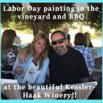 labor day painting in the vineyard, kessler haak winery, events in santa ynez valley, things to do in santa barbara, activities in los olivos