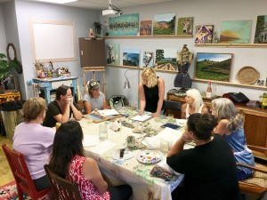 Gypsy Studios Art Class, Santa Ynez Valley, Beginner Painting, Watercolor Class, Solvang, Buellton, Painting Course, Buellton Painting Class