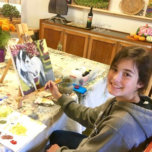 private art lessons, gypsy studios, kids art classes, painting lessons for teens, buellton art class